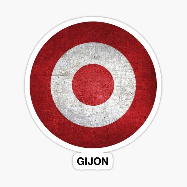 Love my city Gijon target Spain Sticker