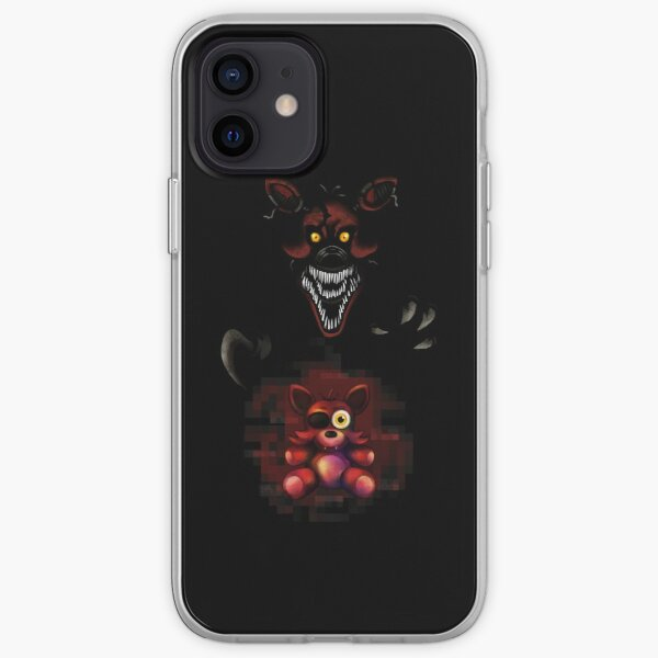 Five Nights at Freddy's - Fnaf 4 - Nightmare Foxy Plush iPhone Soft Case