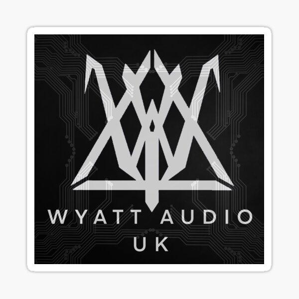 Wyatt Audio UK Large Sticker