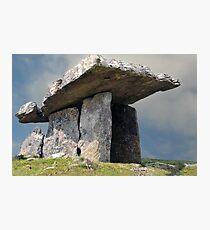 Dolmen, County Clare, Ireland. Photographic Print
