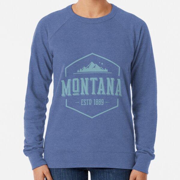 Montana  Vintage State Graphic Retro Hometown  Sweatshirt