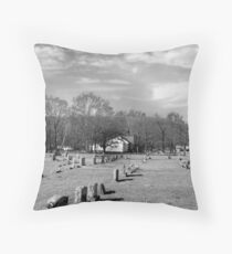 Brentwood Cemetery Throw Pillow