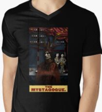 The Mystagogue: Circus Tarot by Duck Soup Productions Mens V-Neck T-Shirt