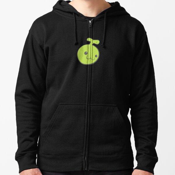 Rockmelon Soda Logo Zipped Hoodie