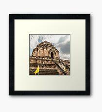 Chiang Mai Temple Framed Print
