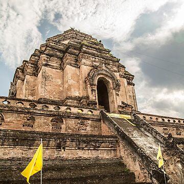 Chiang Mai Temple by madebyrina