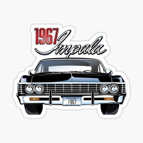 1967 Impala Sticker