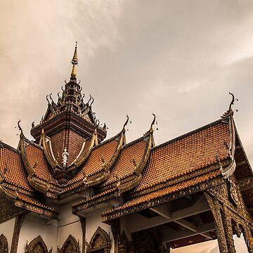 Buddha temple by madebyrina