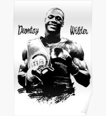 deontay wilder Poster