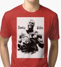 deontay wilder Tri-blend T-Shirt