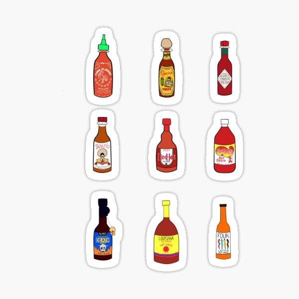 Hot Sauce Sticker Set Sticker