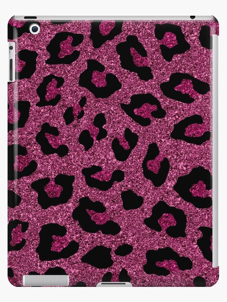 Pink Glitter Leopard Car Kit