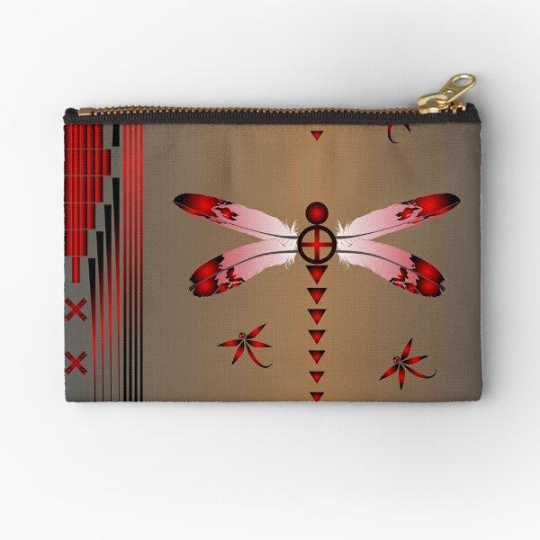 Dragonfly Zipper Pouch