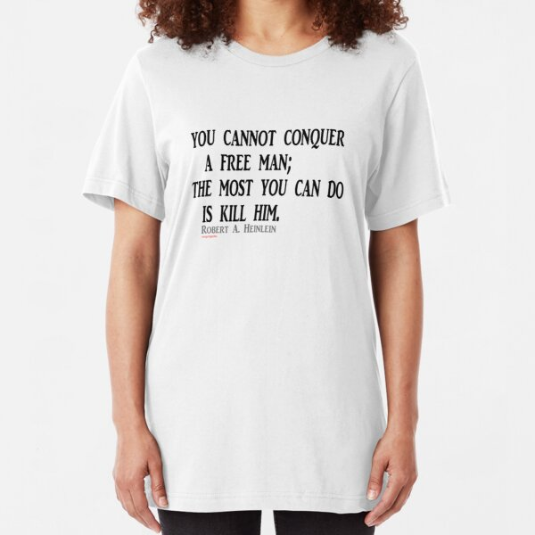 Conquering and its options Slim Fit T-Shirt