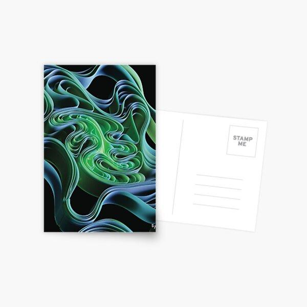 curves #3 Carte postale