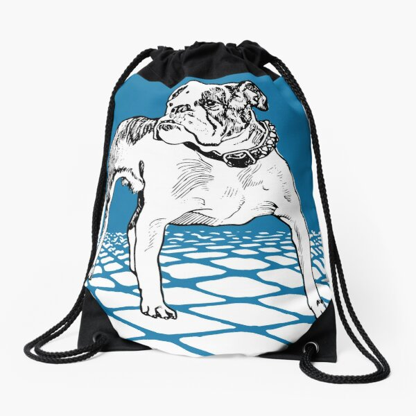 Bulldog Drawstring Bag
