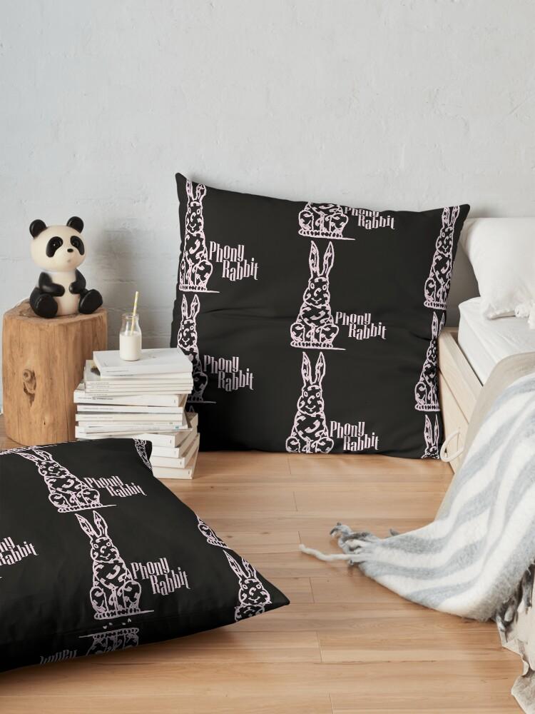 Alternate view of Phony Rabbit Floor Pillow