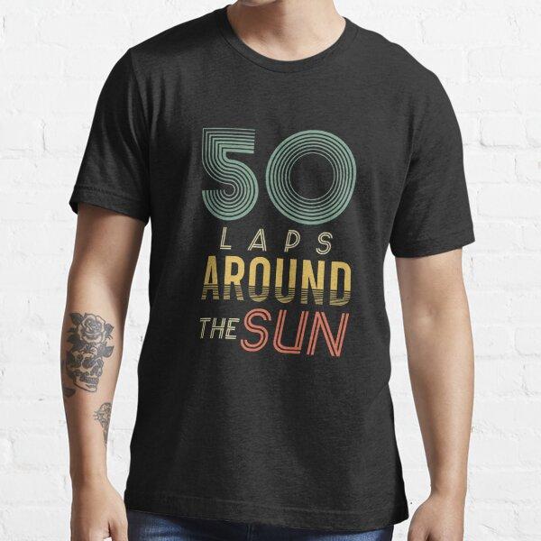50 Laps Around The Sun Essential T-Shirt