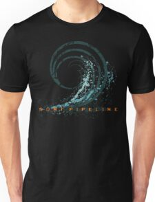 Surf Pipeline Unisex T-Shirt