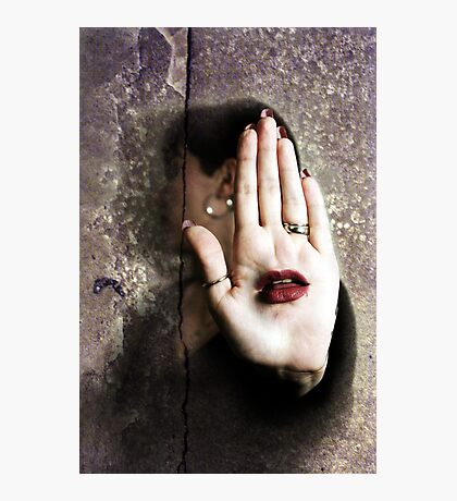 Let Your Hand Do The Talking Photographic Print