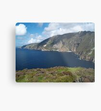 Slieve League Metal Print