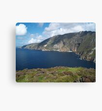 Slieve League Canvas Print