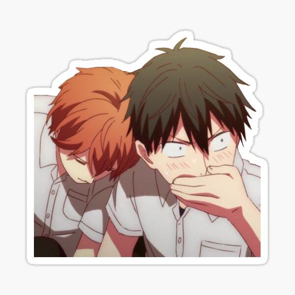 Compte tenu de Mafuyu Sato Uenoyama Ritsuka Anime Sticker Sticker