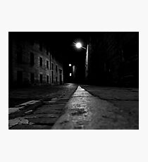 London Road at night Photographic Print