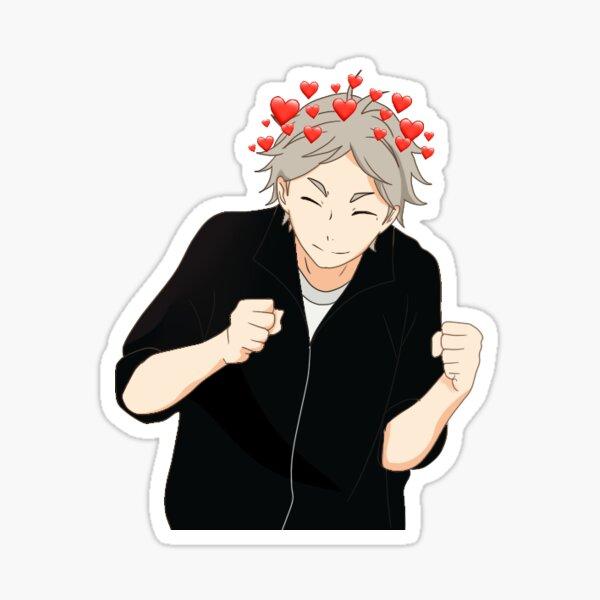 Cute Koshi Sugawara Sticker
