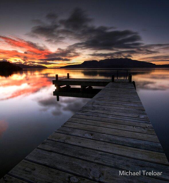 Good Morning Tarawera by Michael Treloar