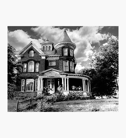 Mansfield Mansion  Photographic Print