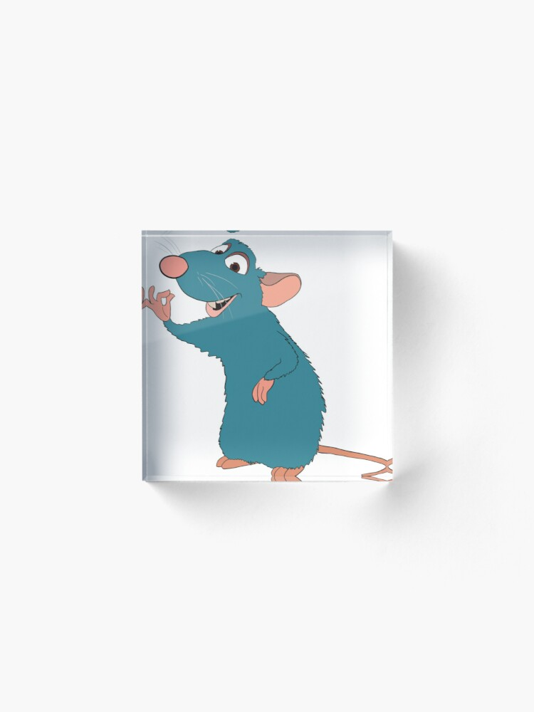Remy From Ratatouille Acrylic Block By Justjessartwork Redbubble