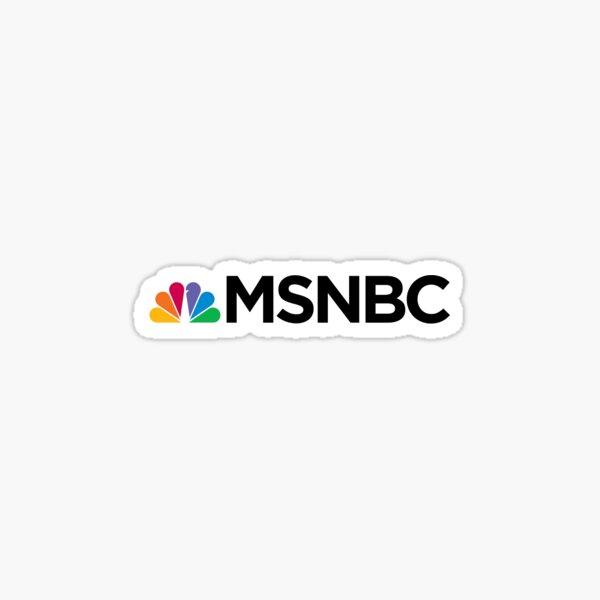 MSNBC Logo Sticker