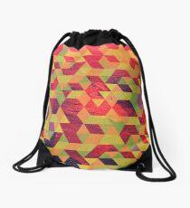 Rombos oleo Drawstring Bag
