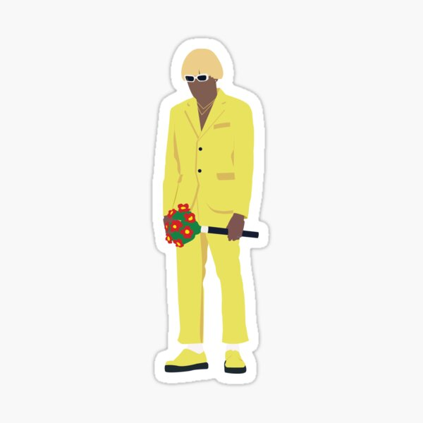 Tyler, The Creator NEW MAGIC WAND Minimalist Design Sticker