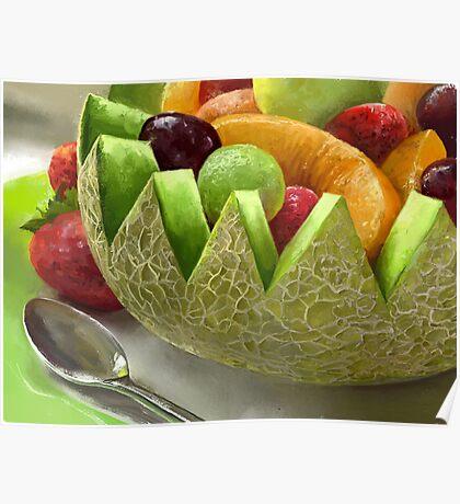 Fruity Feast Poster