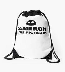 Cameron & The Pigheads Drawstring Bag