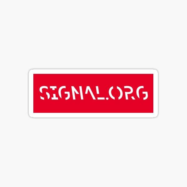 signal private messenger Sticker