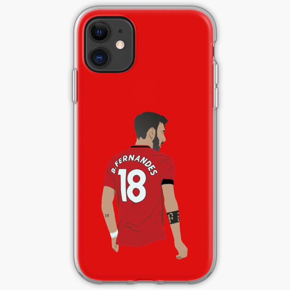 Bruno Fernandes Mufc Iphone Case Cover By Hevding Redbubble
