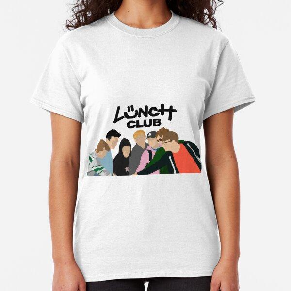 Lunch Club Simplistic Graphic  Classic T-Shirt