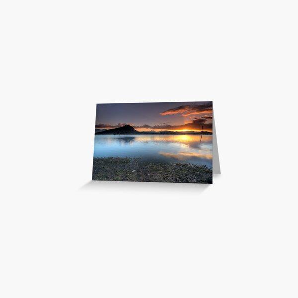 Lake Moogerah, QLD - Australia Greeting Card