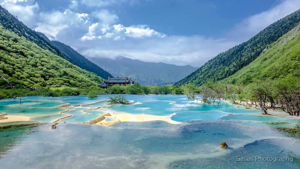 Landscape in Sichuan, China by IB Photography