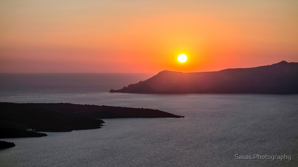 Sunset in Santorini by IB Photography