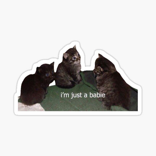 babie ritual Sticker