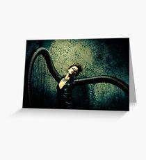 Black Widow Suite Greeting Card