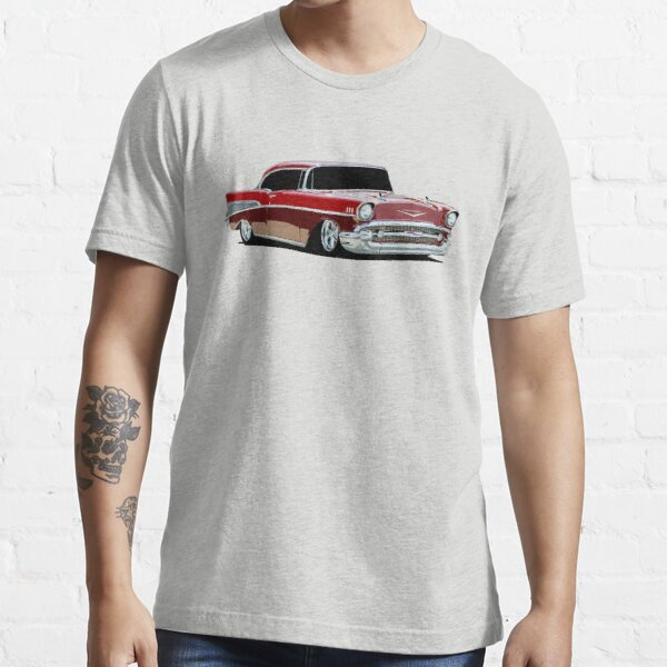 1957 Chevy Bel Air - stylized color Essential T-Shirt