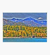 HDR - Lake Walchensee II Photographic Print