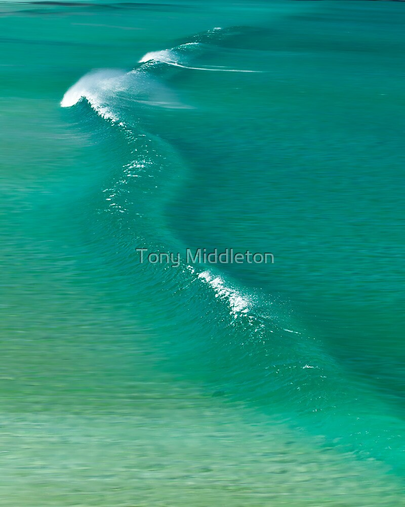 The crystal wave by Tony Middleton
