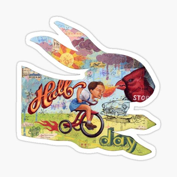 Half Day Sticker