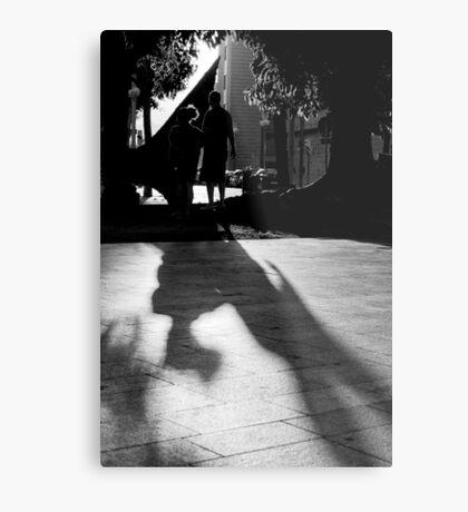 Silouhettes and shadows Metal Print